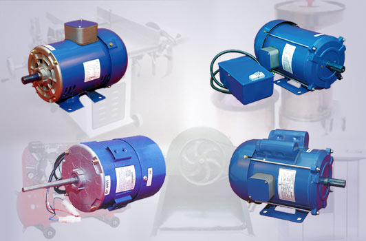 CG FHP SINGLE PHASE MOTORS